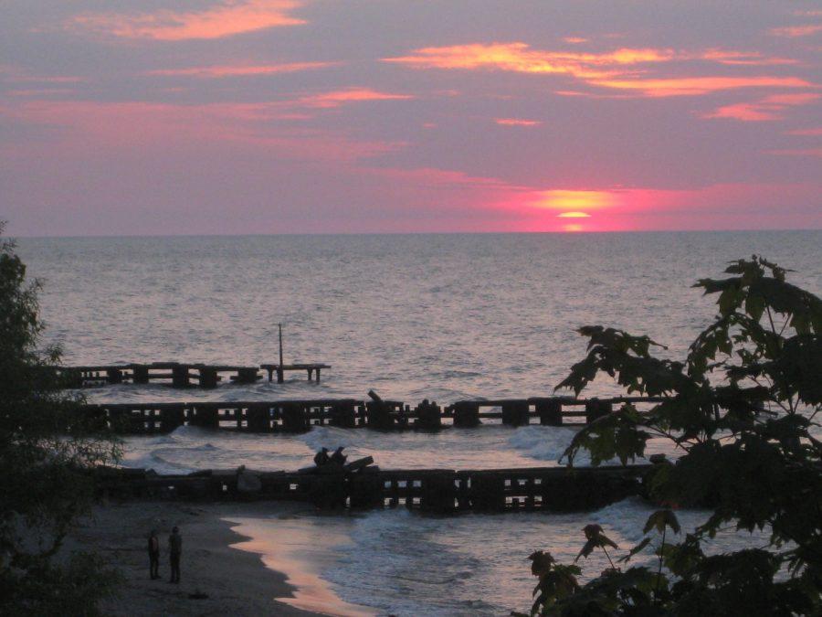 The+Beach+at+Sunset