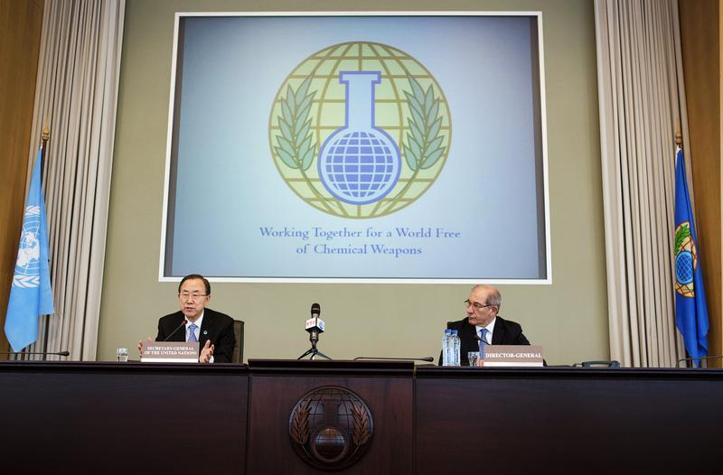 Syria+Submits+Chemical+Weapons+Reports+to+OPCW