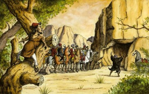 Ali Baba and the Forty Thieves Told in the Voice of the Iliad