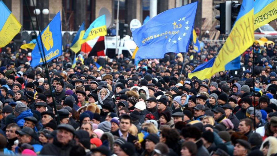 Ukraine+at+the+Forefront+of+Euromaidan