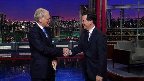 Letterman Retires, Colbert Takes Over