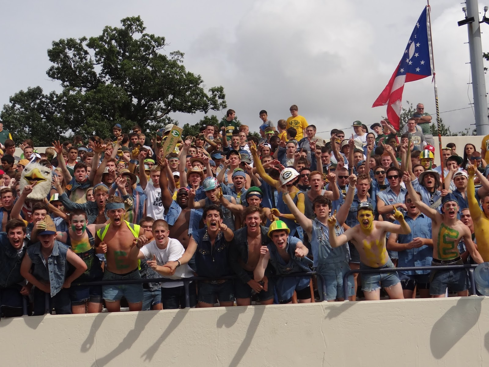 The Pre-Game Student Section