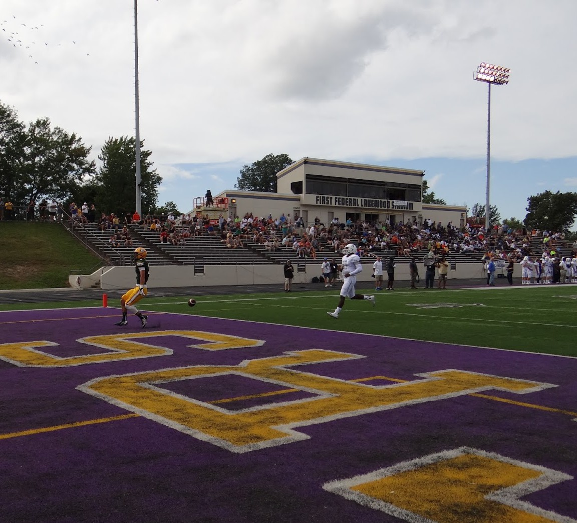 Alex Stump Enters the end zone, scoring our second touchdown of the game