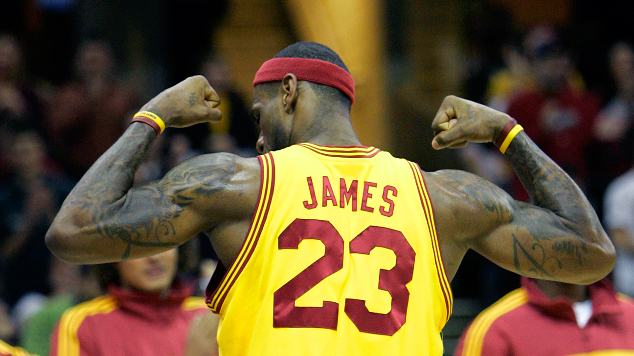 A picture of Lebron James for those who live under a rock