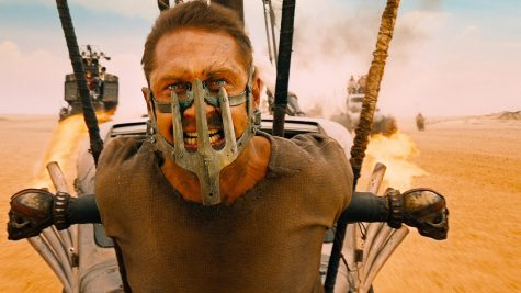 "Tom Hardy as ""Mad Max"""