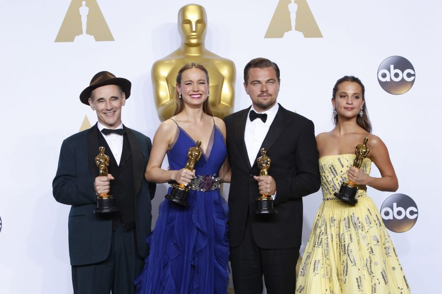 An Oscar Night of Shockers by Aidan McIntyre '16