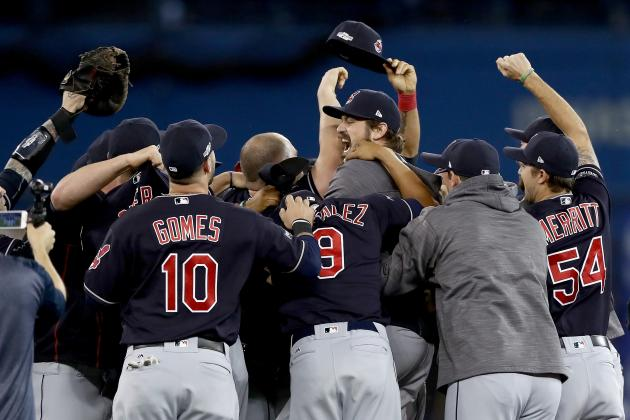 Indians+Cause+Blue+Jays+To+%E2%80%98Shake+in+Their+Boots%2C%E2%80%99+Advance+to+World+Series+by+Max+DiGiacomo+%2718