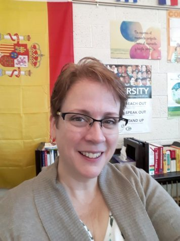 "Ms. Turella ""returns"" to St. Edward as a full-time faculty member after a stint as a long-term substitute last year!"