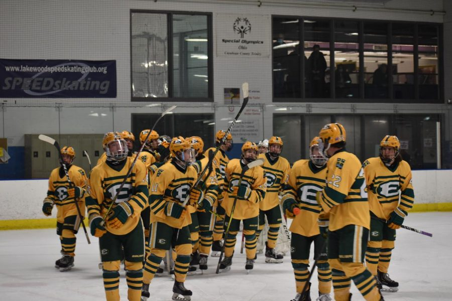 St. Ed's Ice Hockey Defeats the Wildcats! A Photojournalism Story