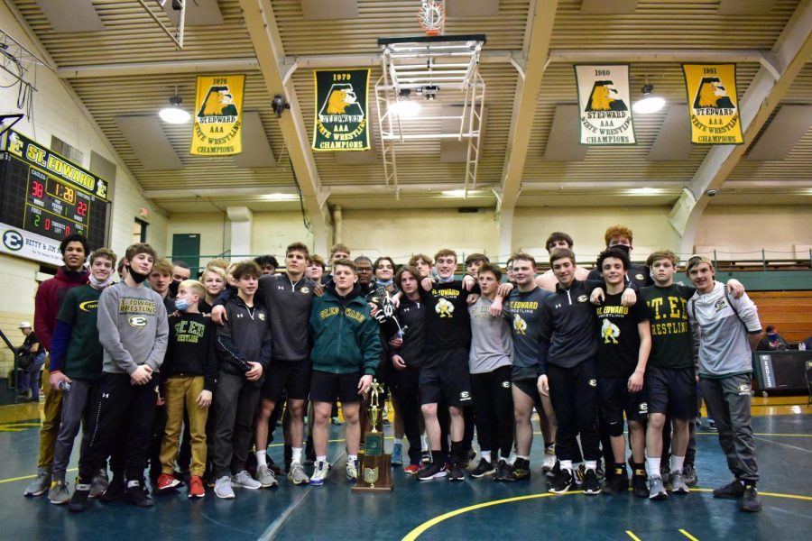 Varsity Wrestling Wins State Duals Championship: A Photoseries