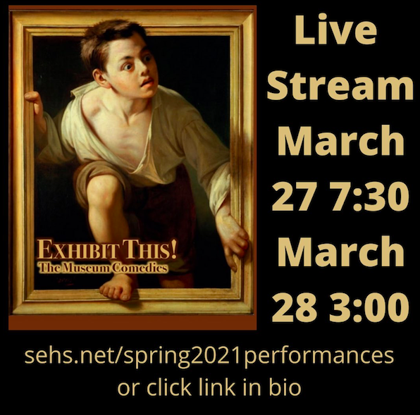 Edwardian Players Present Exhibit This! Streaming This Weekend!